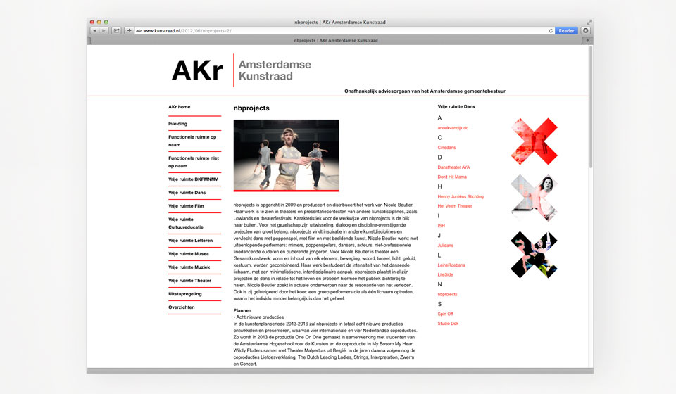 Amsterdamse Kunstraad - duhen + schroot multimedia