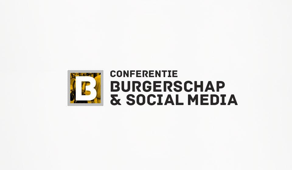 burgerschap & social media logo