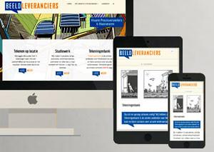 Beeldleveranciers website