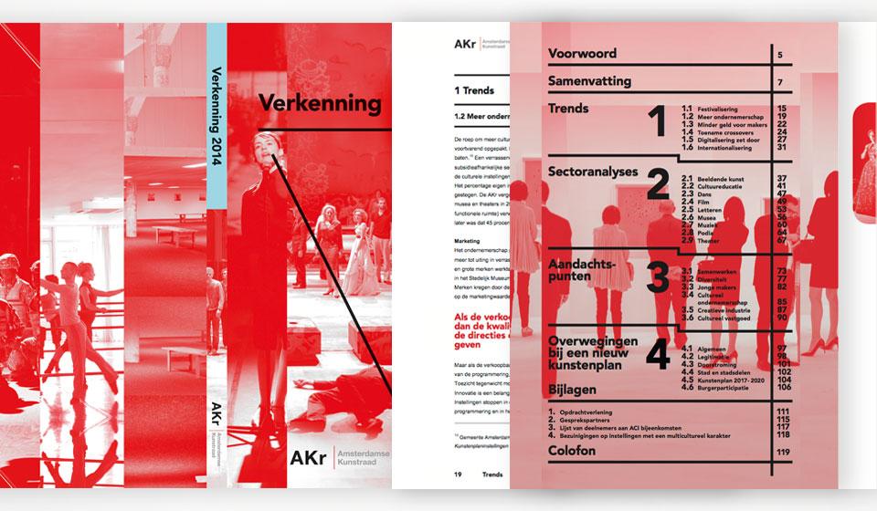 Amsterdamse Kunstraad - Verkenning  2014